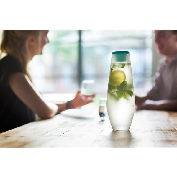 Niebieska karafka szklana XD Design Hyta 1000 ml