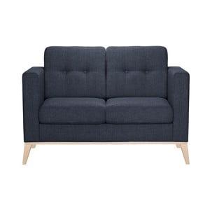 Granatowa sofa dwuosobowa Stella Cadente Recife