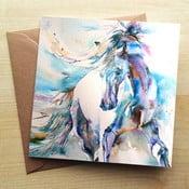 Kartka okolicznościowa Wraptious Spanish Horse