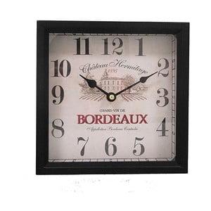 Zegar Antic Line Bordeaux, wysokość 20cm