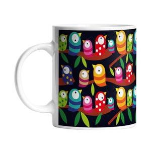 Kubek ceramiczny Birds with Big Eyes, 330 ml