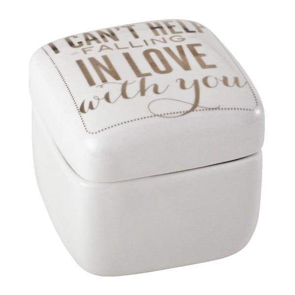 Porcelanowy pojemnik Falling In Love