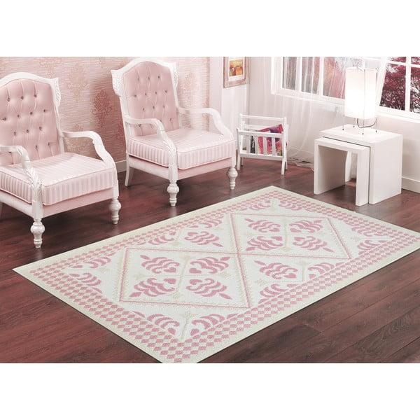 Pudrowy wytrzymały dywan Lulu, 100x150 cm