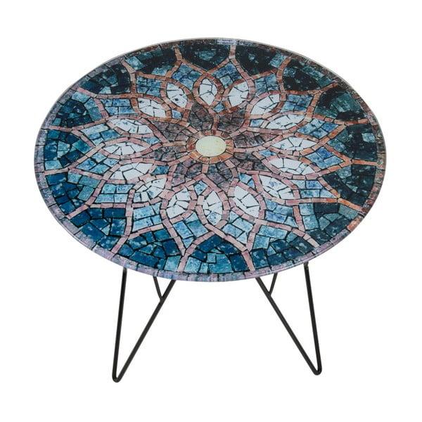 Stolik z mozaiką Actona Sun