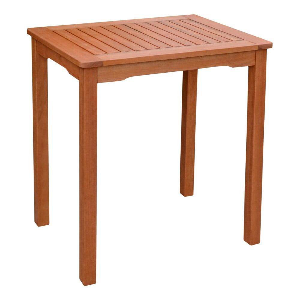 Stół ogrodowy z drewna eukaliptusowego ADDU Pittsburgh, 70x50 cm
