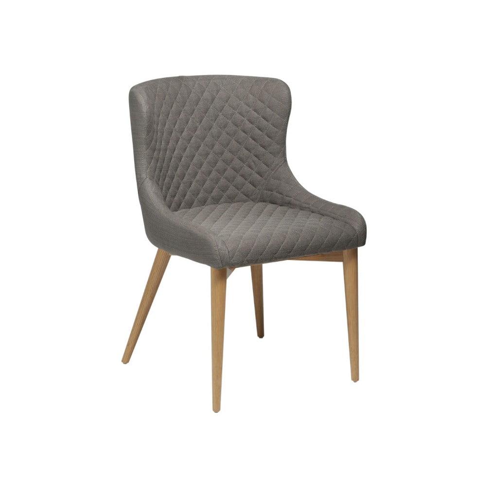 Jasnobrązowe krzesło DAN-FORM Denmark Vetro