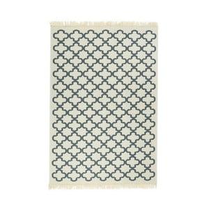 Niebieski dywan Floorist Kare Blue, 120x180 cm