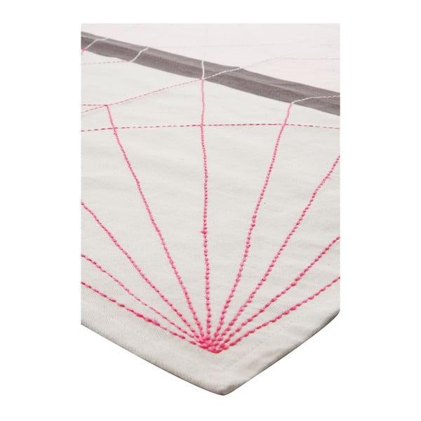 Ścierka kuchenna Crane Neon Pink, 55x65 cm