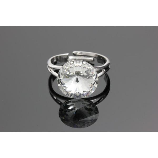 Pierścionek Rivoli Crystal ze Swarovski Elements, rozmiar uniwersalny