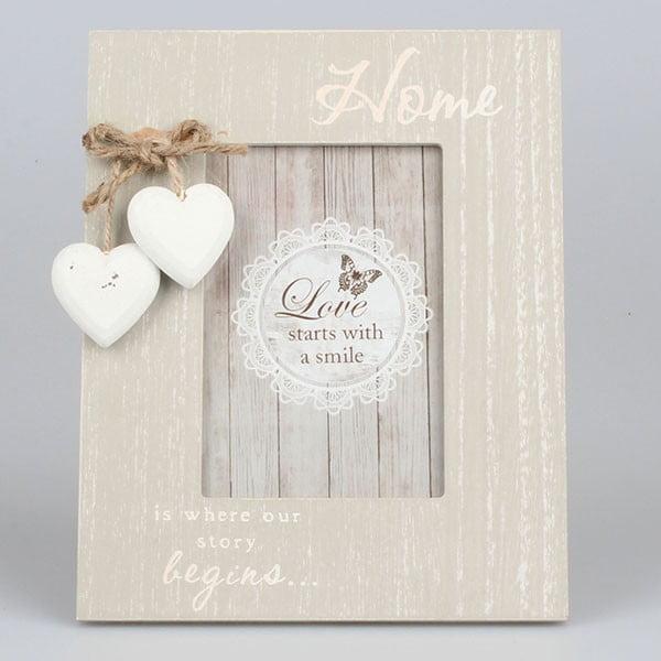 Ramka na zdjęcia Vintage Hearts, 17x22 cm