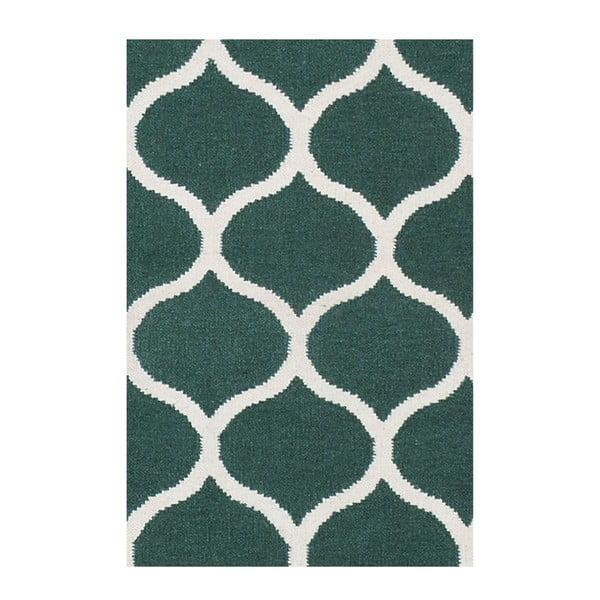 Ręcznie tkany dywan Alize Green, 155x240 cm