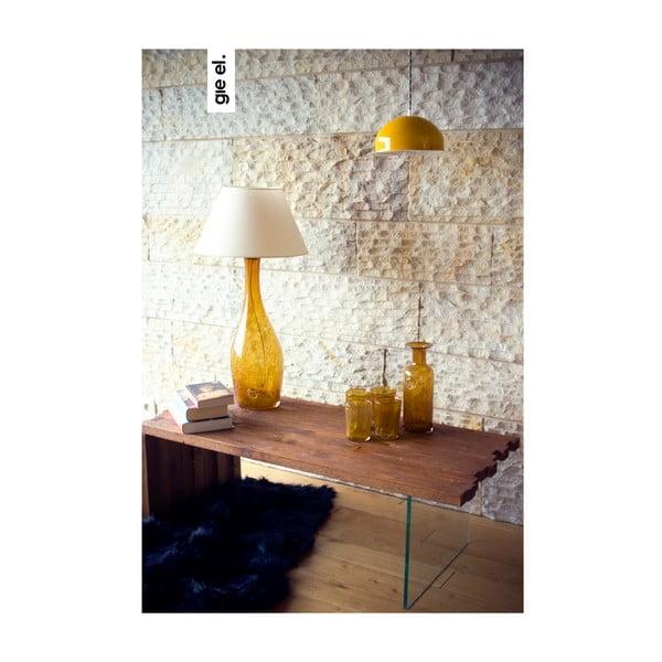 Lampa sufitowa Steel Pendant, żółta