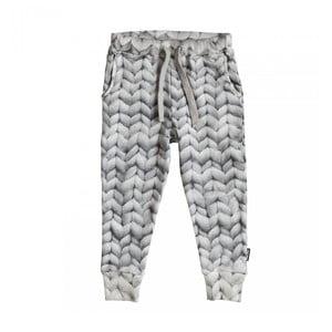 Szare spodnie chłopięce Snurk Twirre, 104