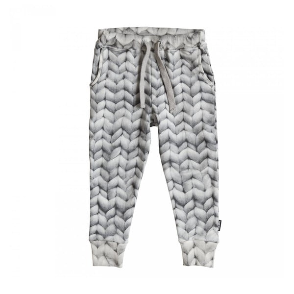 Szare spodnie chłopięce Snurk Twirre, 128
