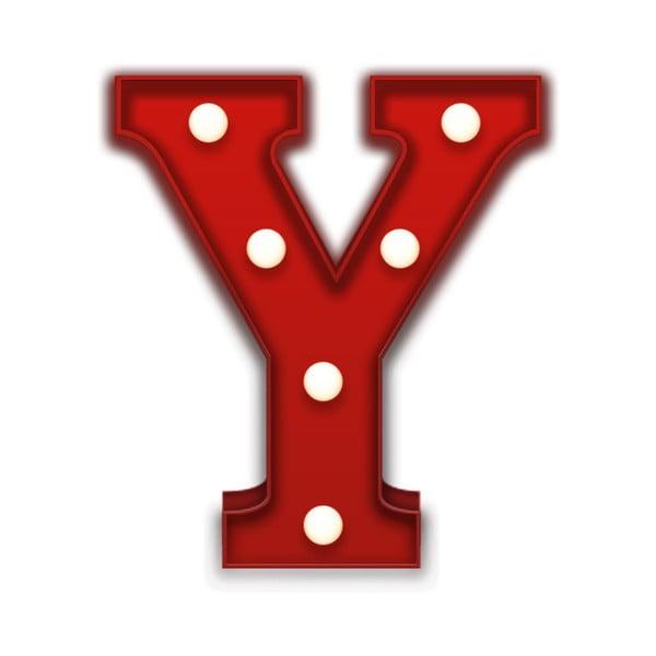 Światło dekoracyjne Carnival Y, czerwone