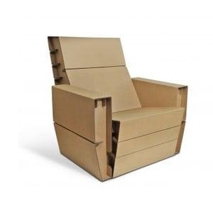 Kartonowy fotel Seater Arms