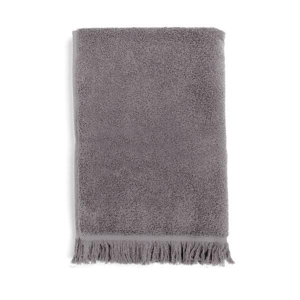 Zestaw 2 jasnoszarych ręczników ze 100% bawełny Bonami, 50x90 cm