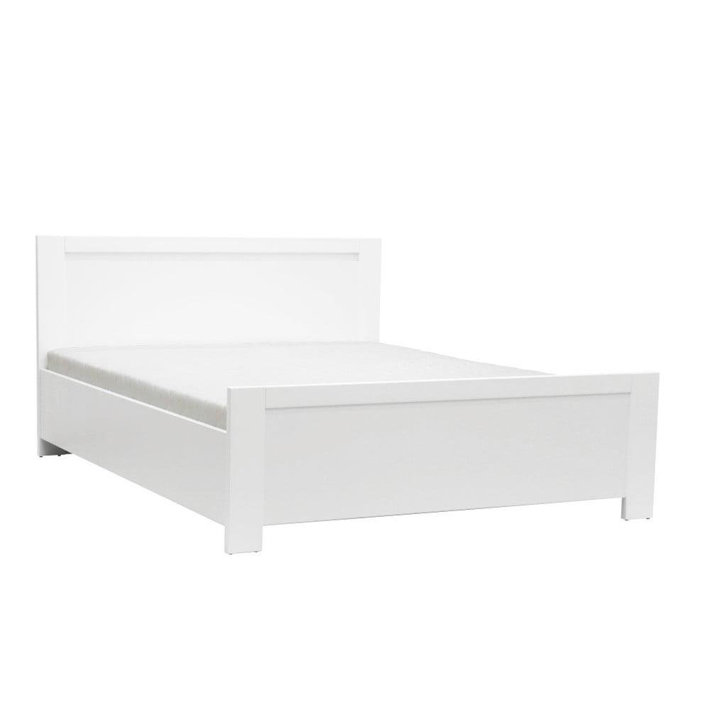 Białe łóżko 2-osobowe Mazzini Beds Sleep, 140x200cm