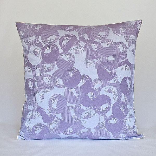Poduszka z wypełnieniem Violet Rings, 50x50 cm
