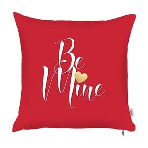 Czerwona poszewka na poduszkę Apolena Be Mine, 43x43 cm