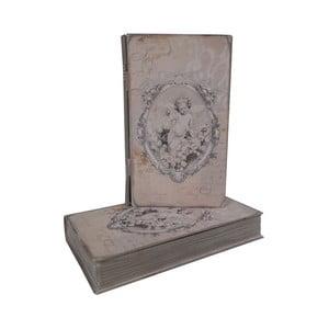 Pudełko Zinc Angel, 13x22x4 cm