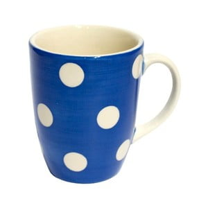 Kubek w kropki French Blue Mug