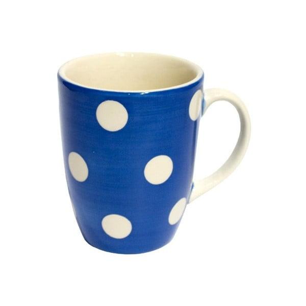 Kubek w kropki French Blue Mug