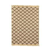 Brązowy dywan Ya Rugs Yildiz, 80x150cm