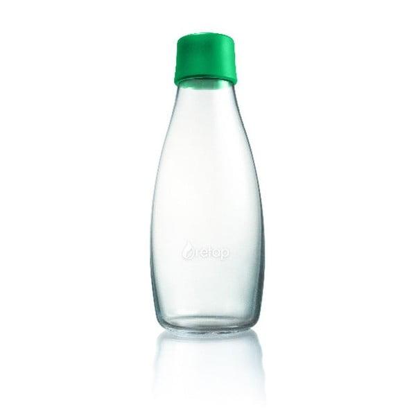 Zielona butelka ze szkła ReTap z dożywotnią gwarancją, 500 ml