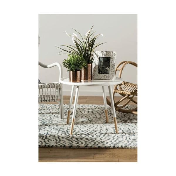 Biały stolik Premiere Living Viborg, ⌀60 cm