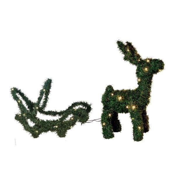 Świecąca dekoracja Dear Reindeer