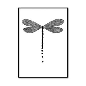 Plakat autorski Dragonfly, A4