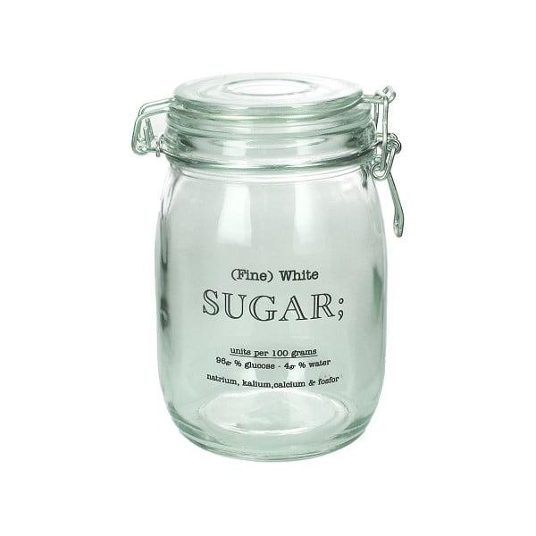 Szklany pojemnik na cukier Sugar
