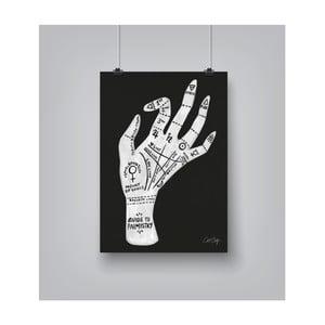 Plakat Americanflat Palmistry, 30x42 cm