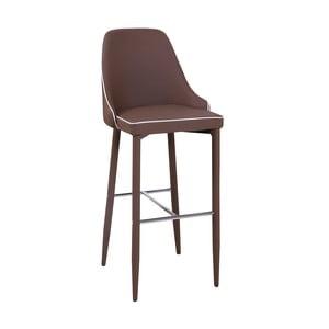 Krzesło barowe New Plana, cappuccino