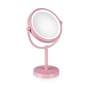 Lustro podświetlane Markslöjd Make-up, różowe