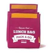 Torba na   lunch Pack & Go Lunch Medium Berry