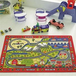 Dywan dziecięcy Railway, 100x150 cm
