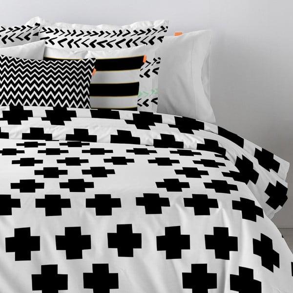 Bawełniana poszewka na poduszkę Blanc Forward, 60x60cm