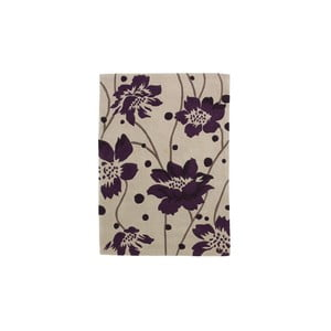 Dywan Hongkong Cream Purple, 60x120 cm
