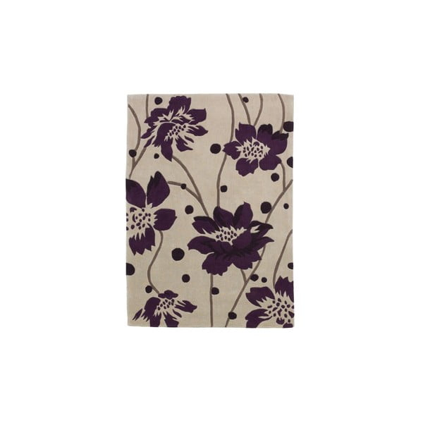 Dywan Hongkong Cream Purple, 120x170 cm