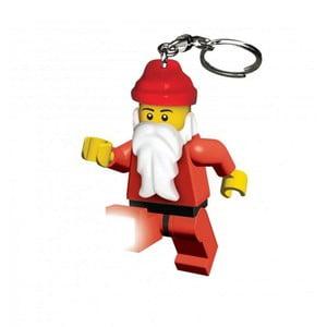 Świecący breloczek LEGO Mikołaj