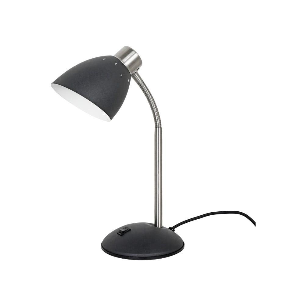 Czarna lampa stołowa Leitmotiv Dorm