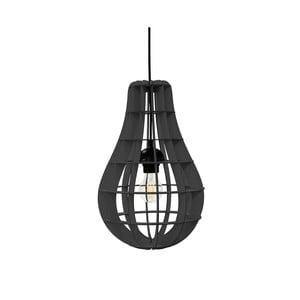 Lampa Bulbo, czarna