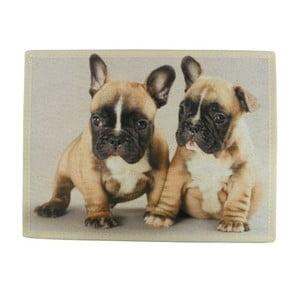 Mata stołowa Mars&More French Bulldog Puppies 40x30 cm