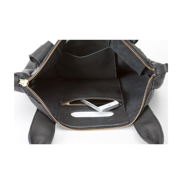Skórzana torebka Marilla Cupboard Black