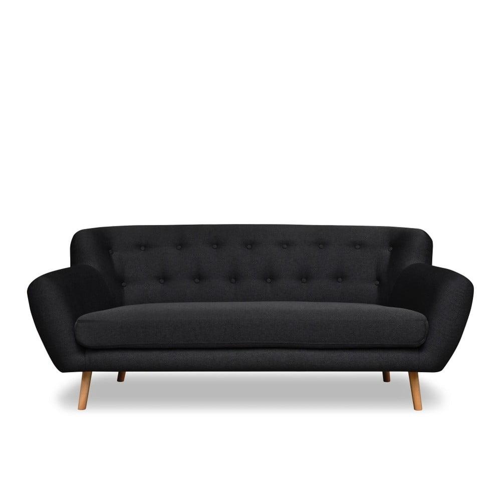 Antracytowoszara sofa Cosmopolitan design London, 192 cm