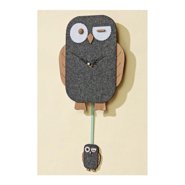 Zegar ścienny Owl
