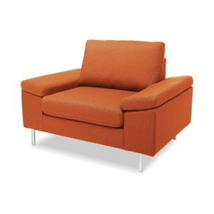 Pomarańczowy fotel VIVONITA Nathan