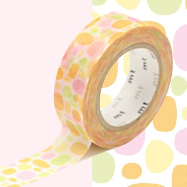 Taśma dekoracyjna washi MT Masking Tape Therese, dł.10m